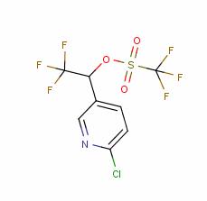 1-(6-chloropyridin-3-yl)-2,2,2-trifluoroethyl trifluoromethanesulfonate